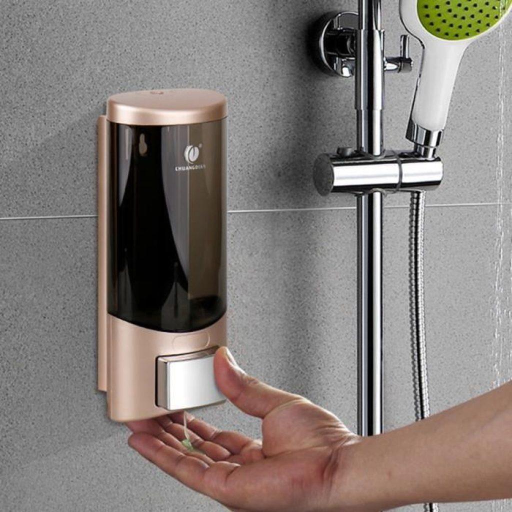distributeur de savon hotel